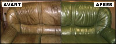 nettoyage et remise neuf des salons en cuir. Black Bedroom Furniture Sets. Home Design Ideas